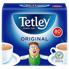 Tetley Original Tea Bags 80's 250g