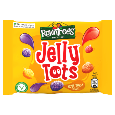 Rowntrees Jelly Tots Small 42g