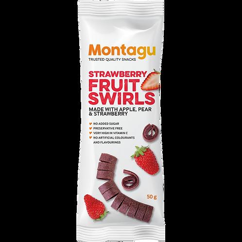 Tourbillons de fruits à la fraise Montagu 50g