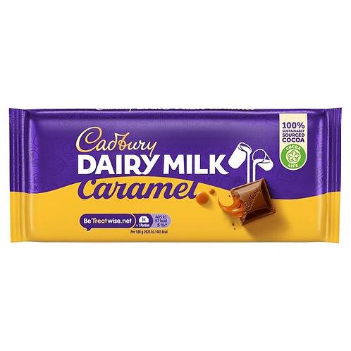 Tablette Cadbury Dairy Milk Caramel Chocolat 120g
