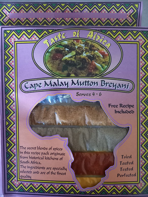 TOA Cape Malay Mutton Breyani | 60g
