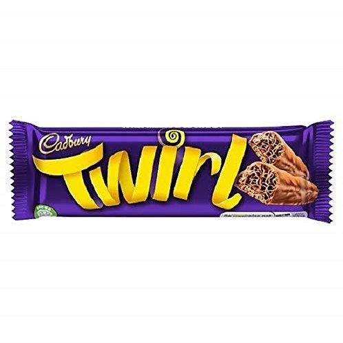 Barre de chocolat Cadbury Twirl 43g