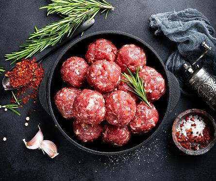 Beef Meatballs   500g packet