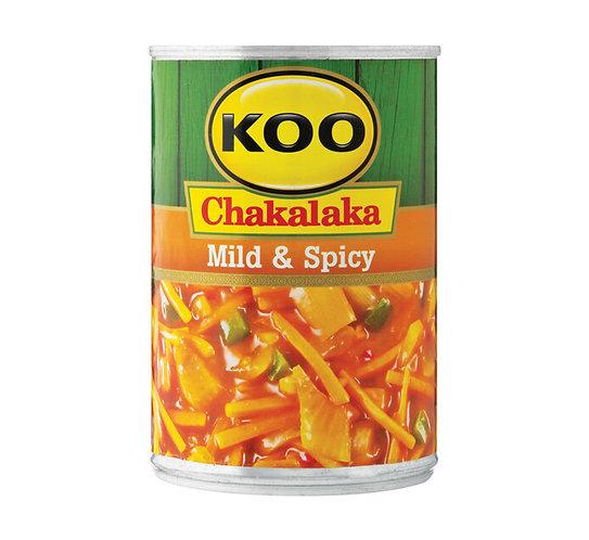 KOO Chakalaka Mild & Spicy | 410g