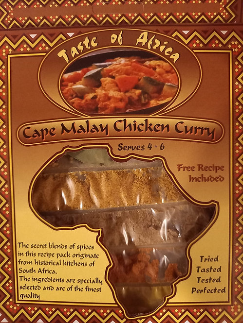 Curry de poulet malais du Cap TOA | 60g