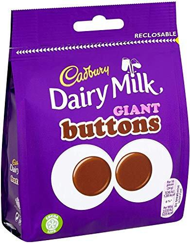 Cadbury Dairy Milk Giant Buttons Chocolate Bag 95g