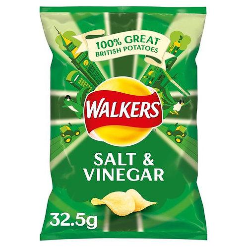 Walkers Chips Sel & Vinaigre 32.5g