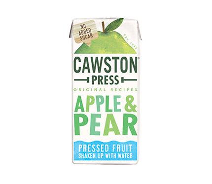 Boisson au jus de pomme et poire Cawston Press 200ml
