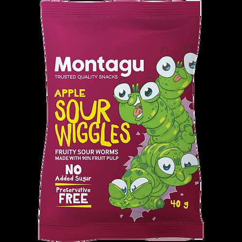 Montagu Aplle Sour Wiggles 40g