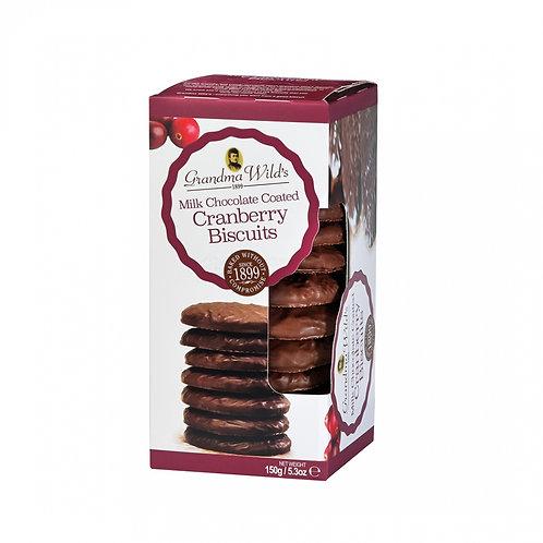 GRANDMA WILD'S MILK CHOCOLATE CRANBERRY | 150G