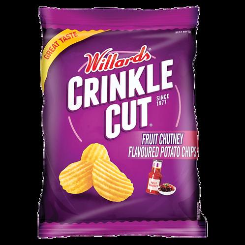 Willards Crinkle Cut Fruit Chutney   125g