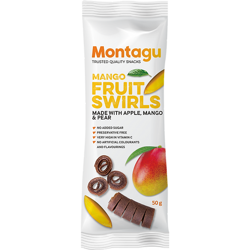 Tourbillons de fruits à la mangue Montagu 50g