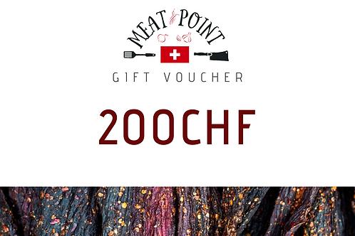 Gift Voucher | 200 CHF