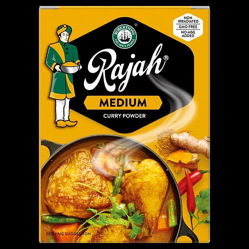 RAJAH Curry moyen en poudre | 200g