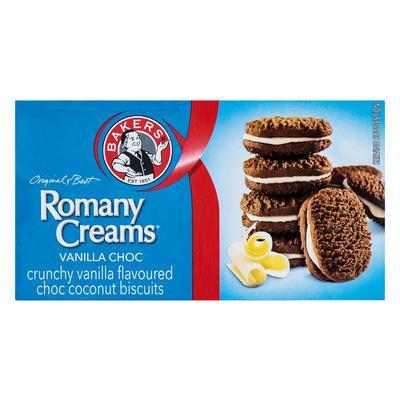 Romany Crèmes Vanille Choc 200g