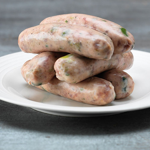 Pork & Leek | 6 sausages per pack