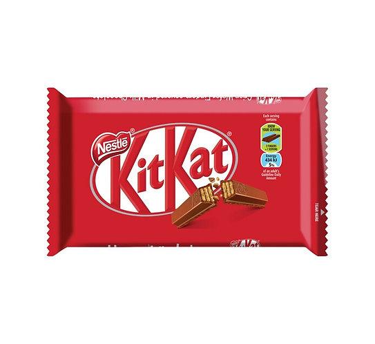 Barre de chocolat au lait 4 doigts Kit Kat 41.5g