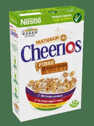 Cheerios Fibre 5 Grains Entiers 375g
