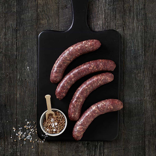 Pure Beef Boerewors | 4 x 125g portion