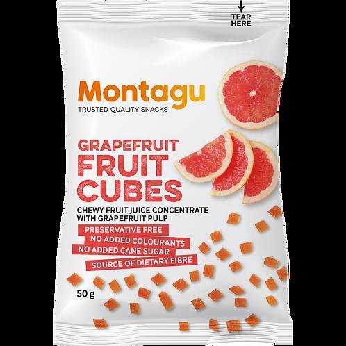 Montagu Grapefruit Fruit Cubes 50g