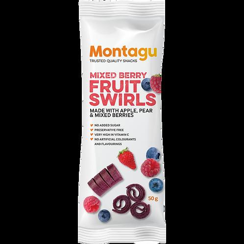 Montagu Tourbillons de Fruits Mélange Baies 40g