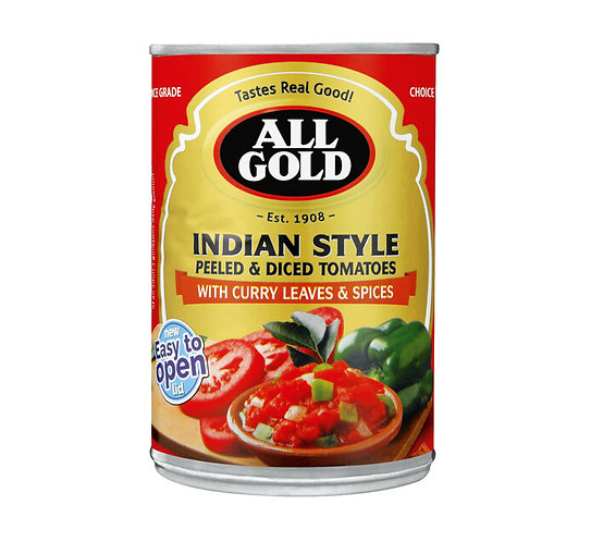 AllGold Indian Tomatoes Diced I 410G