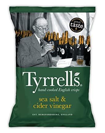 Tyrrells Sea Salt & Cider Vinegar 40g