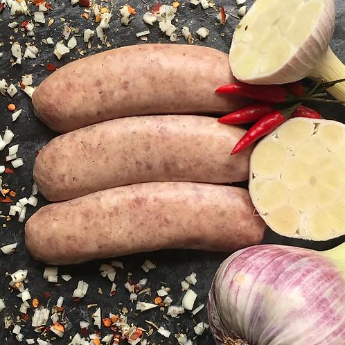Thaï | 6 saucisses par paquet