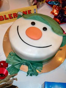 The Snowman Fruitcake