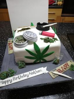 Marajuana Cake