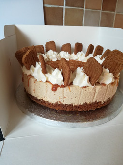 Caramel Biscoff cheesecake