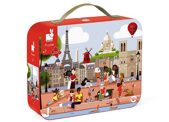 Puzzle 200 pièces Paris - JANOD