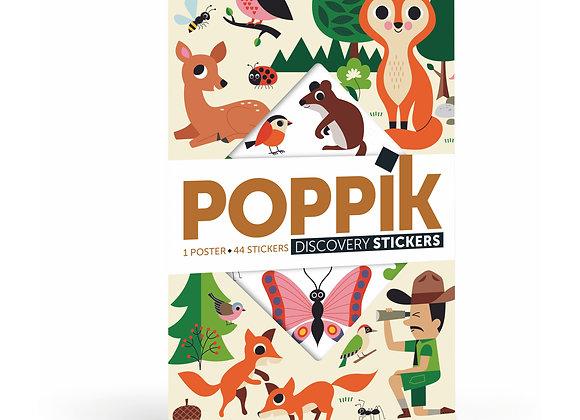 Stickers et Poster La Forêt - POPPIK