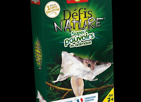 Défis Nature Super pouvoir des animaux - BIOVIVA!