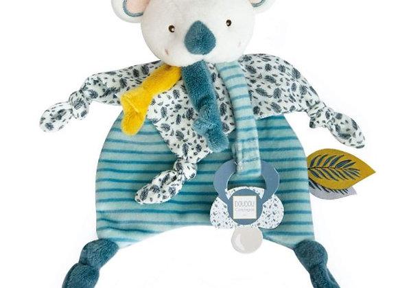 Yoca le Koala Doudou attache-tétine - DOUDOU ET COMPAGNIE