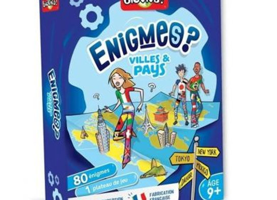 Enigmes Villes et Pays - BIOVIVA!