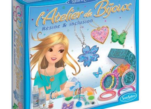 L'atelier de bijoux Résine et inclusion - SENTOSPHERE