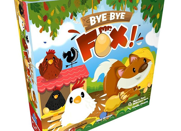 Bye bye Mr Fox - BLUE ORANGE