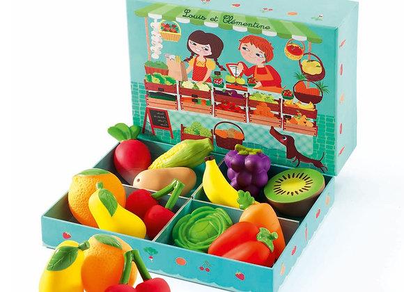 Fruits et Légumes Louis et Clémentine - DJECO