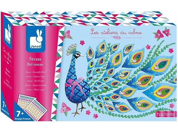 Strass Bel oiseau Les Ateliers du Calme Hachette - JANOD