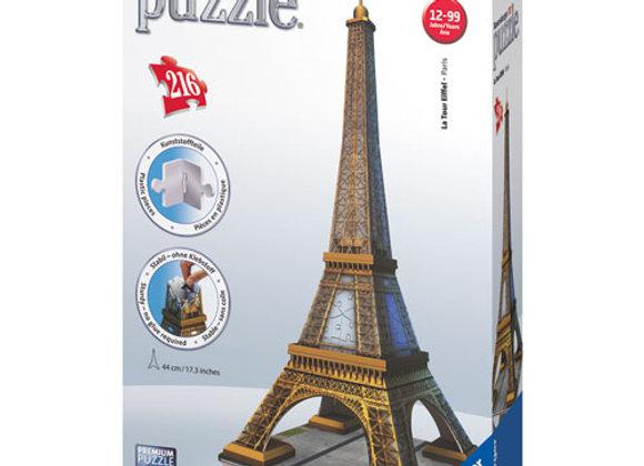 Puzzle 3D 216 pièces Tour Eiffel  - RAVENSBURGER