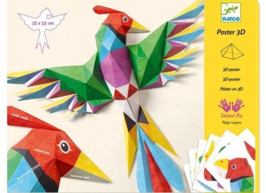 Poster 3D Amazonie - DJECO