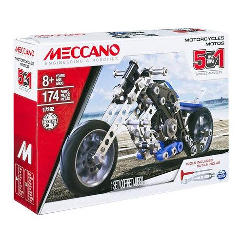 Motocross 5 modèles en 1 - MECANO
