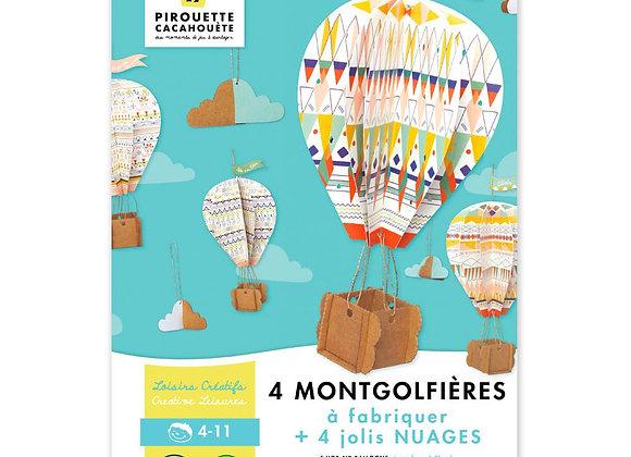 Kit création Mes montgolfières de rêve - PIROUETTE CACAHUETE