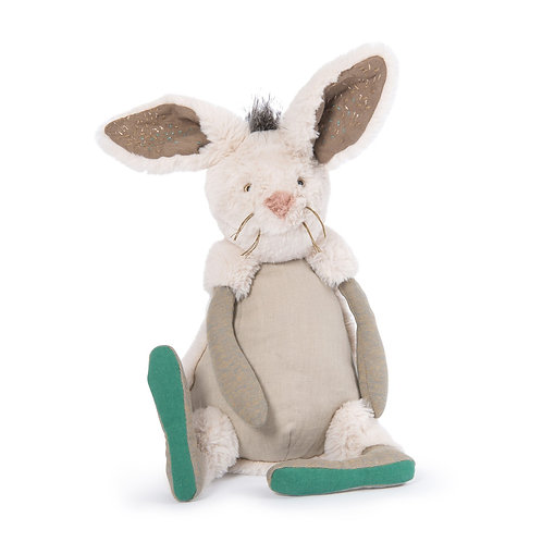 Peluche lapin Neige Rendez-vous chemin du loup - MOULIN ROTY