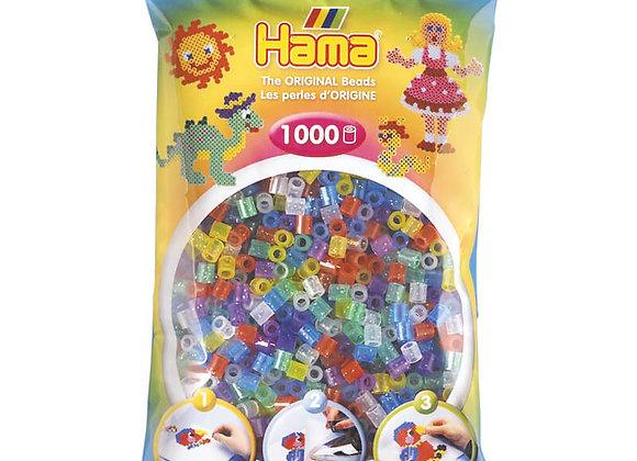 Assortiment de 1000 perles paillettes MiDi - HAMA