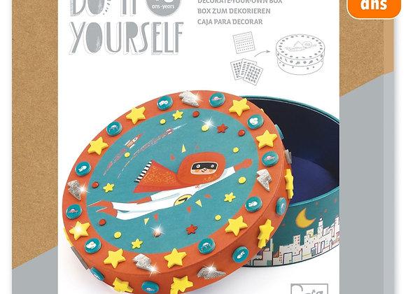 Boite à décorer super trésor Do it Yourself - DJECO