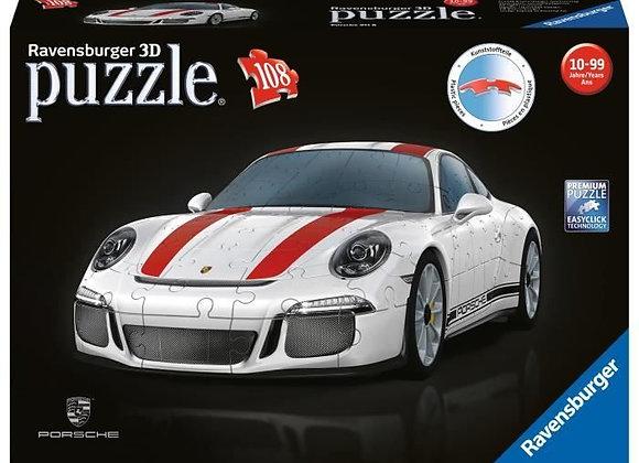 Puzzle 3D Porsche 911 GT3 Cup 108 pièces - RAVENSBURGER