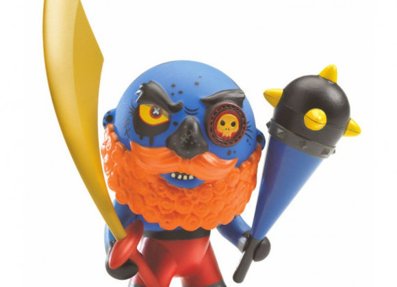 Figurine Pirate Hipster arty toys - DJECO