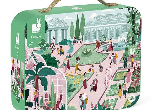 Puzzle  200 pièces Jardin Botanique - JANOD